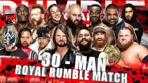 WWE Royal Rumble 2021 Entry Predictions