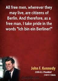 「ich bin ein berliner john kennedy」の画像検索結果