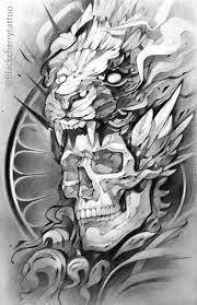 Black Cherry Tattoo Art сорса эскиз тату эскизы татуировок и