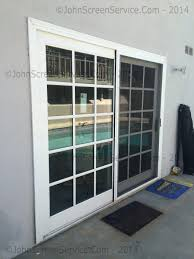 cost to re screen patio door screen door for doors home
