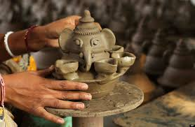 photo essay diwali the festival of lights why i love hinduism an n potter makes earthen lamps ahead of the diwali festival in ahmadabad