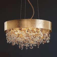 entrancing gold modern chandelier with modern glass chandelier