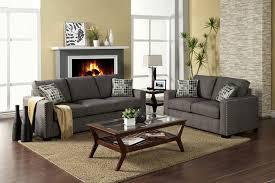 fabric sofa set. Contemporary Graphite Fabric Sofa Set FA20 5