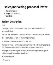 Sample Advertising Proposal Letters Zarplatkatk Intended For