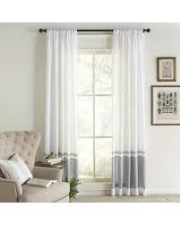 linen curtain panels. Cottage Home Wren Linen Curtain Panel - N/A (Brown) Panels