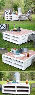 diy outdoor pallet furniture. 14 Amazing DIY Pallet Furniture For Practical Outdoor Patio Diy