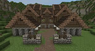 Medieval Village Blueprints Minecraft Tutorial Minecraft