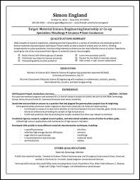 Ceramic Engineer Sample Resume New Advantage Resumes Image Collections Resume Format Examples 48