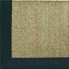 blue sisal rug black sisal rug sisal rug with border sisal rug with blue border chevron