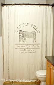 shower curtain country star hooks bathroom curtains bed bath amp beyond