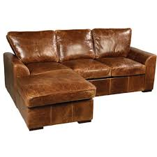 Seattle Cerato Vintage Leather Corner Sofa Next Day Delivery
