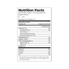 nutrition facts nutrition facts