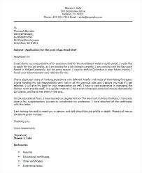 Cover Letter Chef Cover Letter For Pastry Chef Pastry Chef Resume
