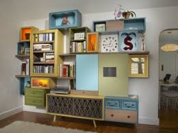 cool vintage furniture. vintage furniture is a great material for cool handmade storage systems e