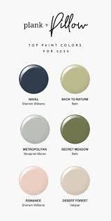 top paint colors for 2020 plank and