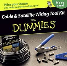 greenlee 77002 cable and satellite wiring kit for dummies wire greenlee 77002 cable and satellite wiring kit for dummies