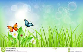 green grass blue sky flowers. Sky Clipart Spring Background #4 Green Grass Blue Flowers