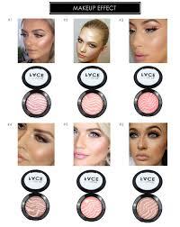 focallure professional face makeup baked palette cheek color blusher