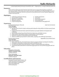 Example Of Manager Resume Nurse Case Manager Resume Examples Examples o RS Geer Books 55
