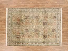 7 x 10 fine kashmiri silk area rug