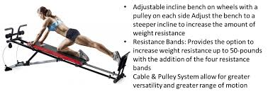 Weider Body Works Pro Chart Weider Ultimate Body Works Review