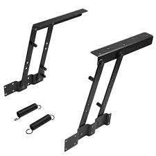 wish 1pair lift up top coffee table lifting frame mechanism spring hinge hardware not the table just the table lifting mechanism xio