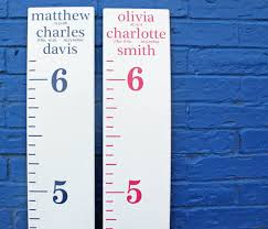 Growth Chart Ruler Decal Diy Growth Chart Ruler Add On Custom Personalized Decal