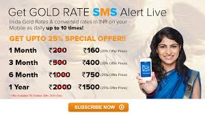Gold Rate Chart In Chennai Free Gold Price Sms Alerts In Mobile Mobile Sms Alerts