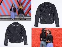 peta x coalition la vegan leather jacket
