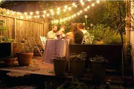 backyard party lighting ideas. Outside Party Lights Ideas Backyard Lighting For A Festoon And Outdoor Come With