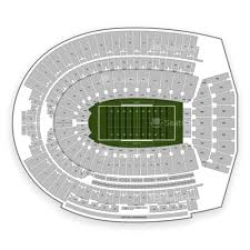 Ohio Stadium Seating Chart Ohio State Buckeyes Football Seating Chart Map Seatgeek