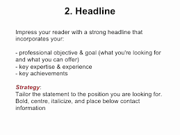 Good Resume Layout New Good Resume Headline Examples Resume Design