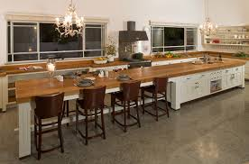 Delightful 29 Kitchen With Long Island On Remarkable Long Kitchen Island  Snapshot Design Long Kitchens With Great Ideas
