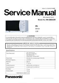 panasonic nn gm342wzpe service manual view online or download Microwave Transformer Schematics at Panasonic Microwave Schematics