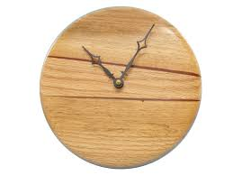 Small Picture Modern Wood Wall Clock Kitchen Wall Clock Home Decor