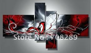 red black and white wall decor black and white red wall art on canvas red black  on red black white wall art with red black and white wall decor red and black canvas wall art black