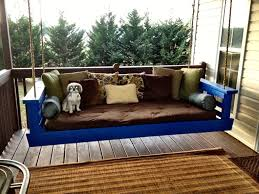 Porch Swing Bed Wooden Porch Swings Incredible For Summer Porch Living Room
