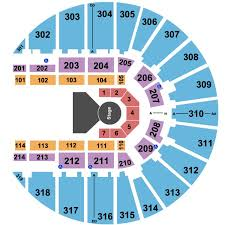 Fort Worth Convention Center Seating Chart Fort Worth Convention Center Arena Tickets And Fort Worth