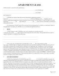 Apartment Lease Agreement Apartment Sublease Agreement Template Invitation Templates 1