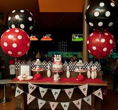 Bowling Birthday Party Decorations