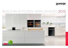 catalogue built in kitchen appliances 2016 1 116 pages