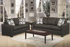 couch set fabric color gray charcoal foot couch black box white pillow pattern picture
