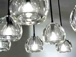 glass blown pendant lighting. New Hand Blown Pendant Lights Glass Lighting Clear . I