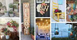 55 best summer porch decor ideas and