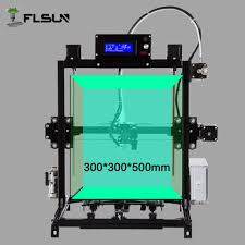 300 300 500mm i3 3d printer metal frame diy auto level auto