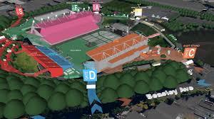 Fly Over Map Paul Mccartney Concert 2017 Mt Smart Stadium