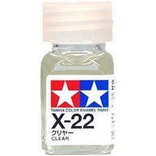 tamiya color enamel paint gloss x 22 clear