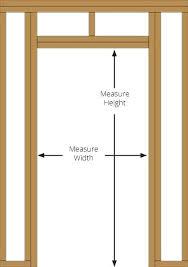 how to measure patio door door rough opening how to measure sliding patio door handle measure