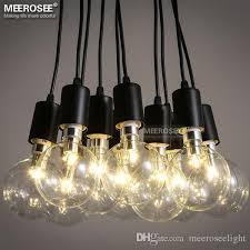 modern decoration chandelier lighting fixture american style metal plastic suspension lamp fancy hanging light vintage res pendant light american