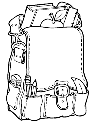 Small Picture Free and Printable Back to School Coloring Pages in PDF